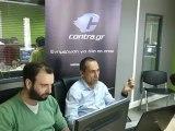 Ο Γιώργος Δώνης στο Contra.gr - Για κλήσεις στην Εθνική