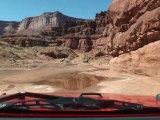 CANYONLAND MARS 2011 DESCENTE  JEEP LAREDO  UTAH