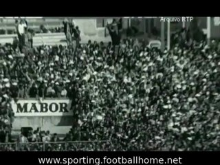 Reportagem sobre o antes e durante o jogo Sporting - 3 Benfica - 5 de 1973/1974