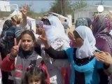 L'esodo dei profughi siriani verso la Turchia