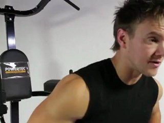 Abs Workout on the Powertec Basic Trainer with Rob Riches