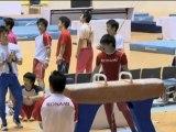 Turnen: Japans Goldhoffnung Uchimura ist fit