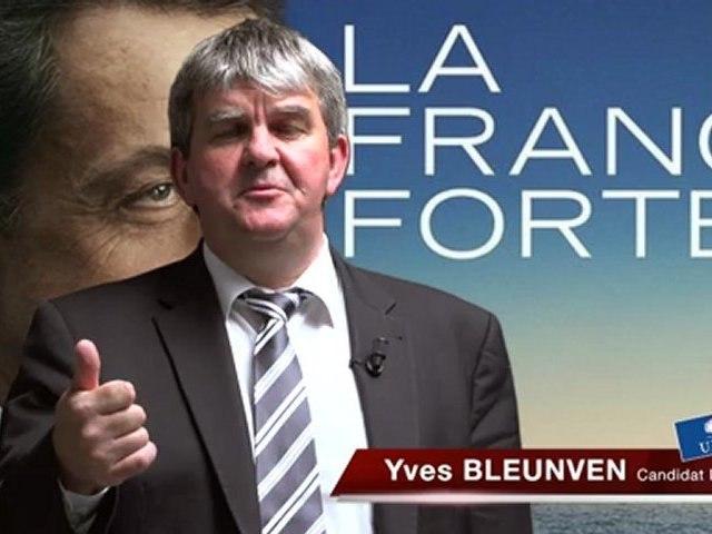 Nicolas Sarkozy 2012 - Yves Bleunven UMP