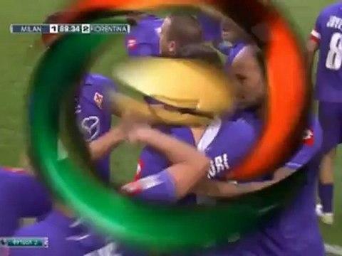 AC Milan 1 - 2 Fiorentina All Goals & Highlights