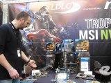 Présentation du stand MSI lors de la Gamers Assembly 2012