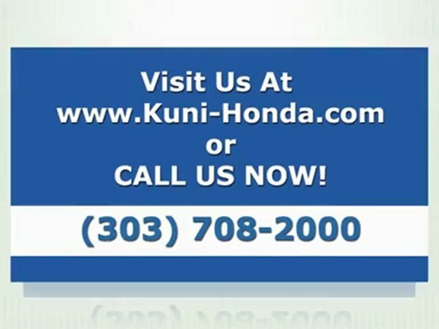 Denver Honda Dealer Kuni Honda 2012 Honda Accord