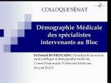 Conseil de l'ordre Démographie médicale : Pénurie et palliatifs pour la démographie médicale.