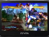 Street Fighter x Tekken PS Vita - Tekken Gameplay
