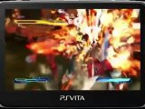 Street Fighter x Tekken PS Vita - Street Fighter Gameplay