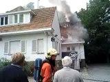 Incendie Rhode saint Genèse 2009