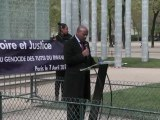 18ème Commémoration du Génocide des Tutsi au Rwanda, Paris, 7 avril 2012 - M. Jacques Kabale, ambassadeur du Rwanda en France
