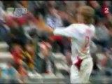 RC Lens - Lille OSC, Coupe de la Ligue, saison 2007/2008 (1ère mi temps)