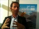 Edgar Grospiron, chef de mission pour les Jeux Olympiques de la Jeunesse d'hiver 2012