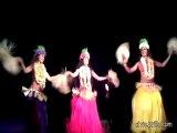 Hula Dancing at a Hawaiian Luau