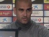"""Deportes / Fútbol; Barcelona, Guardiola: """"Hay que sonreír poco y correr más"""""""