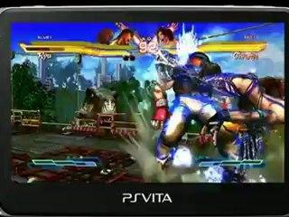 Trailer Gameplay  de Street Fighter X Tekken