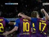 FC Barcelona 4-0 Getafe Liga Espanola 2011/2012 - Journée 33  Messi est inhumain !