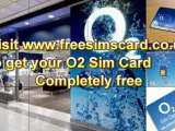 O2 free sim card, O2 payg free sim with Unlimited O2 to O2 calls and texts