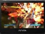 Street Fighter X Tekken PS Vita Captivate Gameplay Video 01