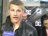 Danny Way, Alexander Ludwig, Rob Dyrdek, and others at the Waiting For Lightning premiere