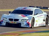 BMW M3 DTM on the track