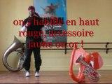 La parade d'Hannibal 2012 au Musée dauphinois - Le flashmob