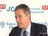 La JCEF rencontre Nicolas Dupont-Aignan, Debout la République 12 avril 2012
