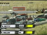 Ross Petty vs Rhys Millen in the battle of the Top 32, Rhys Millen moves on to Top 16.