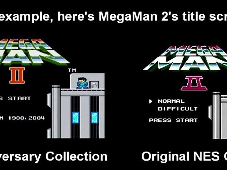 Megaman Comparison