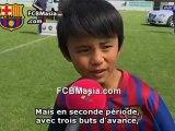 Le Messi Japonais du Barça auteur d'un but magnifique !