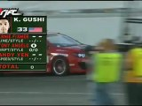 Ken Gushi ran a 40.4 during session 2 of qualifying for Formula Drift Round 7