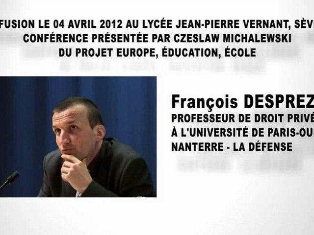 L'organisation juridictionnelle, François DESPREZ