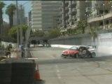 FREDRIC AASBO #151 at Formula Drift Round 1, Long Beach California 2011 qualifying