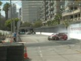 KEN GUSHI at Formula Drift Round 1, Long Beach California 2011 qualifying