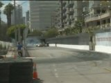 FREDRIC AASBO at Formula Drift Round 1, Long Beach California 2011 qualifying