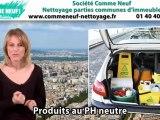 Nettoyage parties communes immeuble Paris