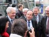 François Hollande en campagne à Moulins le 13 avril 2012 - La Semaine de l'Allier