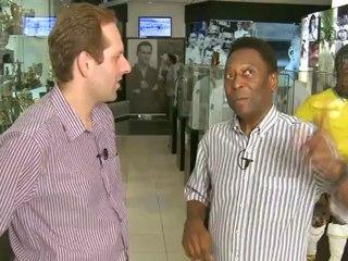 Pelé: a chegada ao Santos