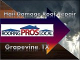 Hail Damage Roof Repair - Grapevine, TX