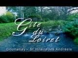 Gite Courtenay Loiret : Le LOFT St Hilaire avec Rivière et Grand Terrain de 3.5ha (prairies et grands arbres))