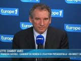 "Bayrou : ""Sarkozy et Hollande sont irresponsables"""