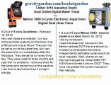 Claber 8410 Aquadue Duplo Dual Outlet Digital Water Timer (Lawn & Patio) vs Melnor 3060 6-Cycle Electronic AquaTimer Digital Dual Hose Timer (Lawn & Patio)
