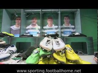 Os Bastidores do jogo Sporting - 2 Metalist - 1 de 2011/2012