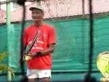 Banni par les Khmers rouges, le tennis est de retour au Cambodge
