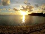 Timelapse coucher de soleil