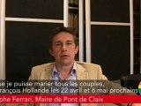 Engagement 31 - Christophe Ferrari (Pont de Claix) s'engage