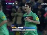 Levante 1-2 FC Barcelona Liga Espanola 2011/2012 - Journée 34  Le choc des titans continue !