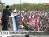 Discours de François Hollande à Vincennes