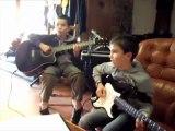 Apache par Quentin & Samuel Cours de guitare à St Marcel d'Ardèche