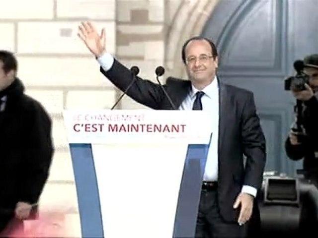 Discours de F. Hollande à Paris-Vincennes